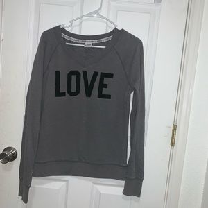 So cute from Vitoria secret sweatshirt!